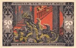 Image #2 of 50 Pfennig 1922 - Köln