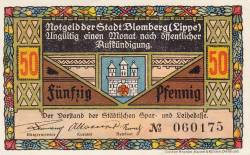 Image #1 of 50 Pfennig ND - Blomberg (Lippe)