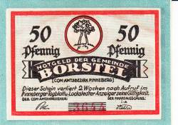 Image #1 of 50 Pfennig ND - Borstel (Pinneberg)