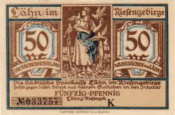 Image #1 of 50 Pfennig ND - Lähn im Riesengebirge