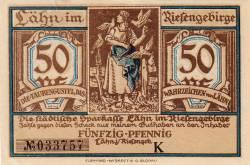 Imaginea #1 a 50 Pfennig ND - Lähn im Riesengebirge