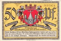 Image #1 of 50 Pfennig ND - Wittenberge