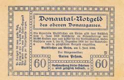 60 Heller 1920 - Waldkirchen am Wesen