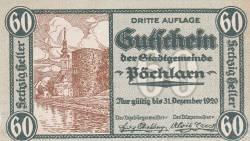 60 Heller 1920 - Pöchlarn
