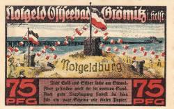 Image #1 of 75 Pfennig 1921 - Grömitz