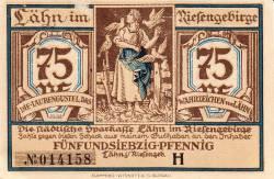 Image #1 of 75 Pfennig ND - Lähn im Riesengebirge