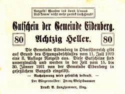 Imaginea #2 a 80 Heller 1920 - Eidenberg
