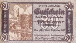 80 Heller 1920 - Pöchlarn