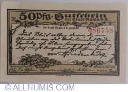 50 Pfennig 1921 - Kahla