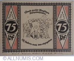 Image #2 of 75 Pfennig 1921 - Stolzenau