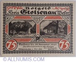 75 Pfennig 1921 - Stolzenau
