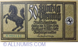 Image #1 of 50 Pfennig 1922 - Stuttgart