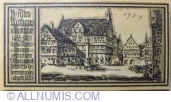 Image #2 of 50 Pfennig 1922 - Stuttgart