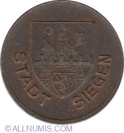 Image #2 of 50 Pfennig 1918 - Siegen