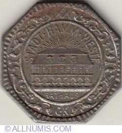 Image #2 of 50 Pfennig 1919 - Hamm