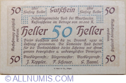 Image #1 of 50 Heller ND - Mauthausen