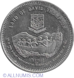 1 Dollar 1982 - Rocky Mountain House