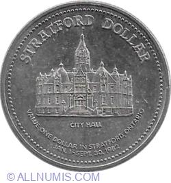 Image #2 of 1 Dollar 1982 - Stratford