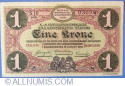 Image #1 of 1 Krone / Korona 1916 - Zalaegerszeg