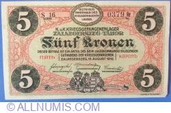 5 Kronen / Korona 1916 - Zalaegerszeg
