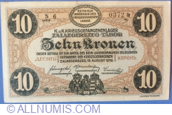 10 Kronen / Korona 1916 - Zalaegerszeg