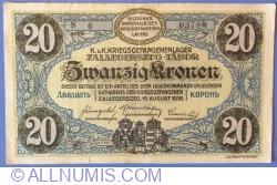 Image #1 of 20 Kronen / Korona 1916 - Zalaegerszeg