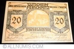 Imaginea #1 a 20 Heller 1920 - Ferschnitz