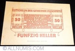 Imaginea #2 a 50 Heller 1920 - Ferschnitz