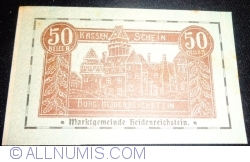 Imaginea #1 a 50 Heller 1920 - Heidenreichstein (A II-a emisiune - 2. Auflage)