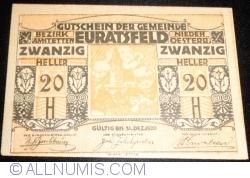 Imaginea #1 a 20 Heller ND - Euratsfeld