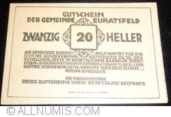 Imaginea #2 a 20 Heller ND - Euratsfeld