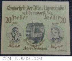 Image #1 of 20 Heller 1918 - Oberndorf bei Salzburg