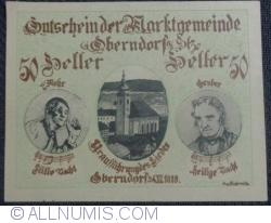 Image #1 of 50 Heller 1918 - Oberndorf bei Salzburg