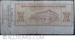 Imaginea #2 a 100 Lire 1976 (19. I.) - Torino