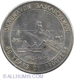 Image #1 of 1 Dollar 1973 - Shaunavon