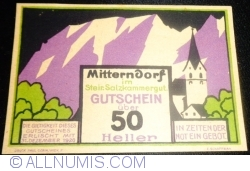 Image #1 of 50 Heller 1920 - Mitterndorf