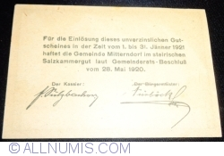 Image #2 of 50 Heller 1920 - Mitterndorf
