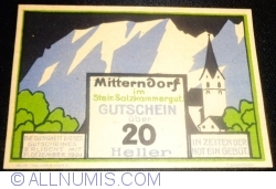 Image #1 of 20 Heller 1920 - Mitterndorf