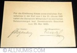 Image #2 of 10 Heller 1920 - Mitterndorf