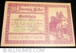 Imaginea #1 a 20 Heller 1920 - Melk