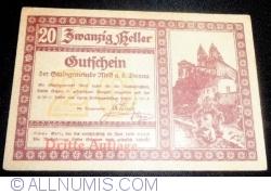 Imaginea #1 a 20 Heller 1920 - Melk (Dritte Auflage - Emisiunea a III-a)