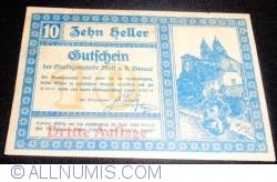 Imaginea #1 a 10 Heller 1920 - Melk (Dritte Auflage - Emisiunea a III-a)