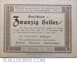 Image #1 of 20 Heller 1920 - Frankenfels