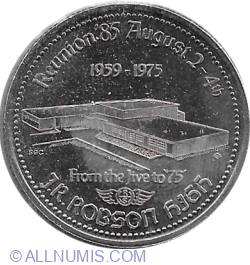 Image #2 of 1 Trade Dollar 1985 - Vermillion