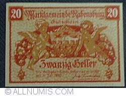 20 Heller ND - Rabensburg