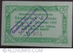 Image #2 of 20 Heller 1920 - Schwallenbach