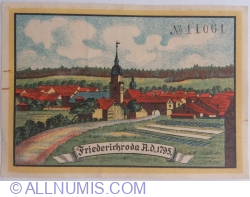 Image #2 of 50 Pfennig 1921 - Friedrichroda