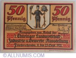 Image #1 of 50 Pfennig 1921 - Friedrichroda