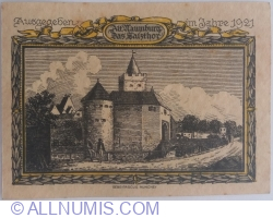Image #2 of 25 Pfennig 1921 - Naumburg