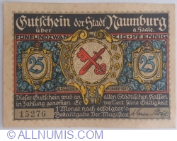 Image #1 of 25 Pfennig 1921 - Naumburg